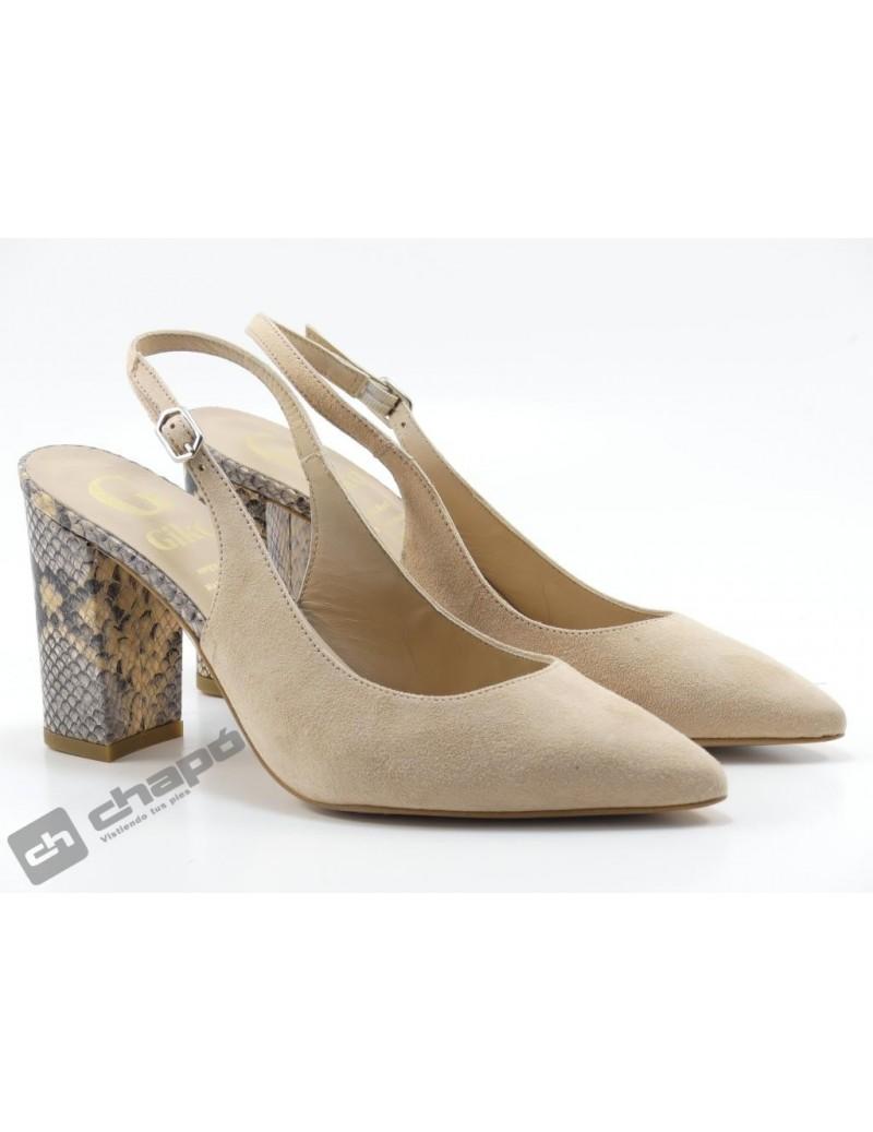 Zapatos Rosa Giko 95039