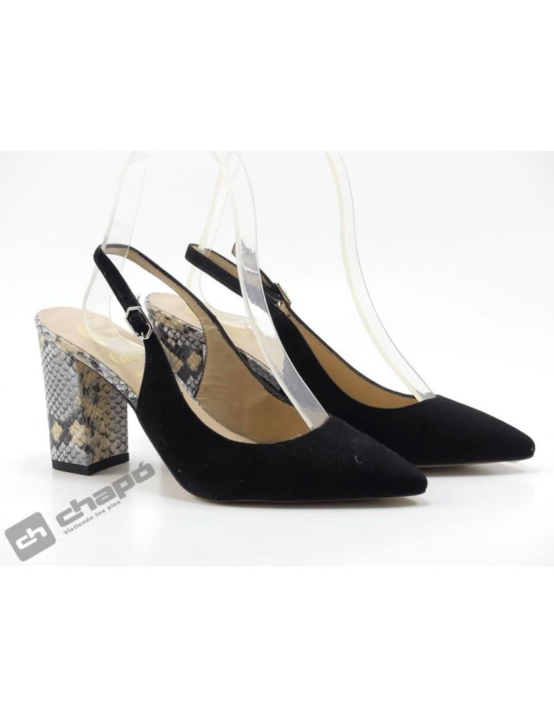 Zapatos Negro Giko 95039