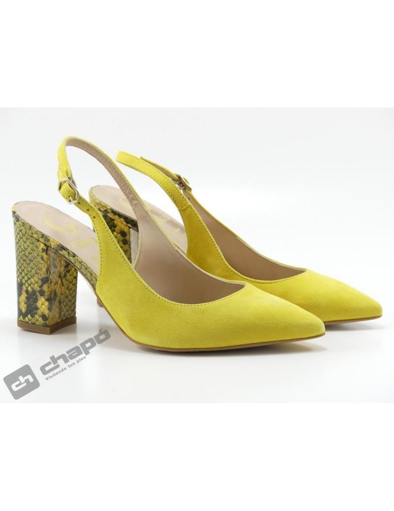 Zapatos Mostaza Giko 95039