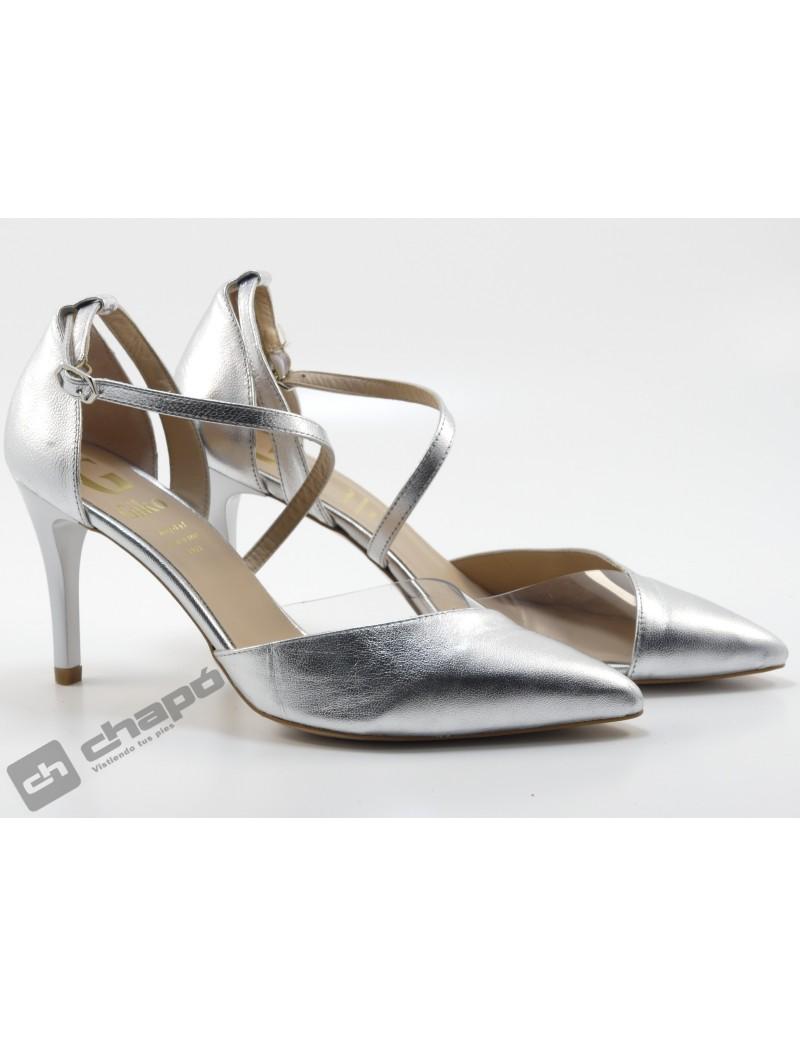 Zapatos Plata Giko 95032