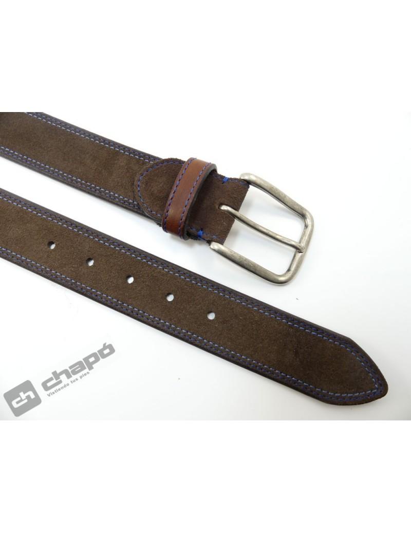 Cinturones Marron Miguel Bellido 615-38-1907-23-004