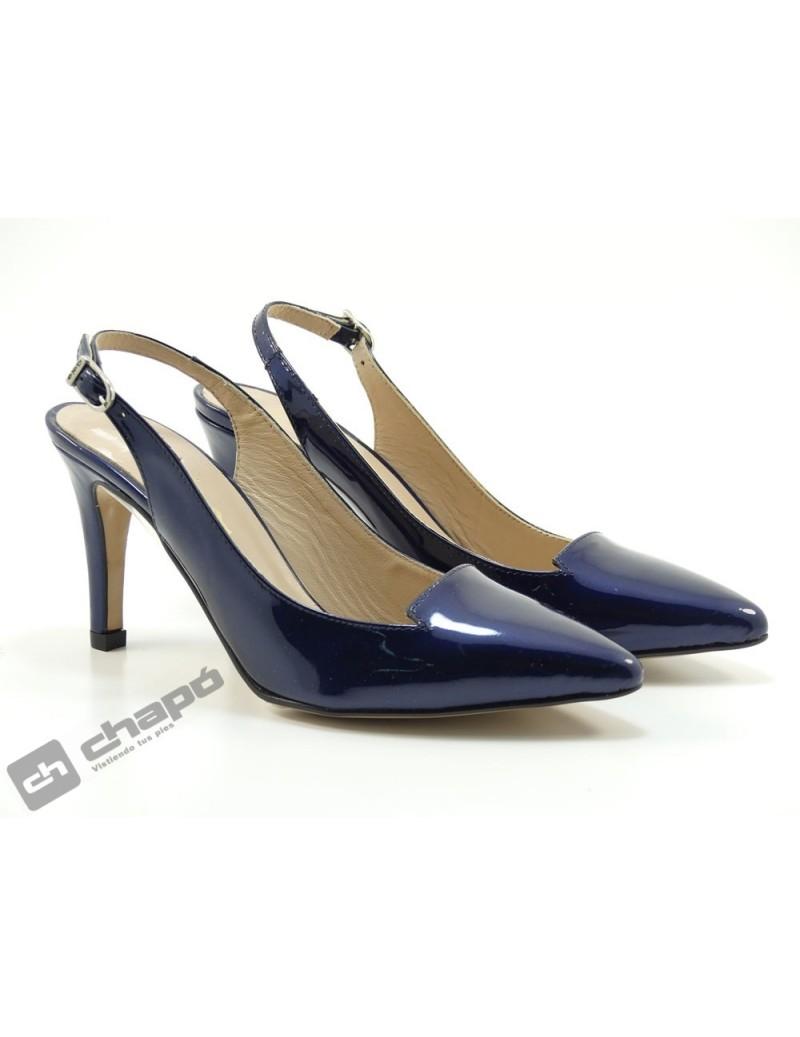 Mules Azul Giko 90660