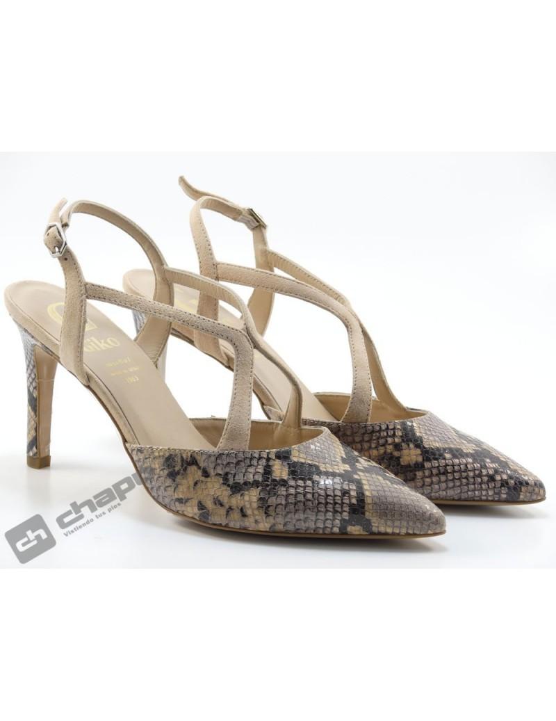 Zapatos Rosa Giko 95029