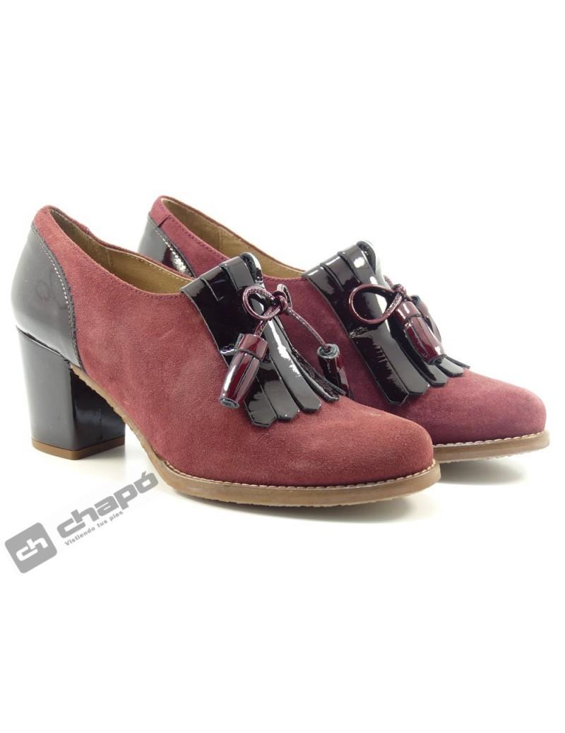 Zapatos Burdeo Giko 55500