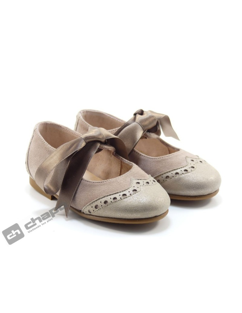 Zapatos Nude Ruts Shoes P-652