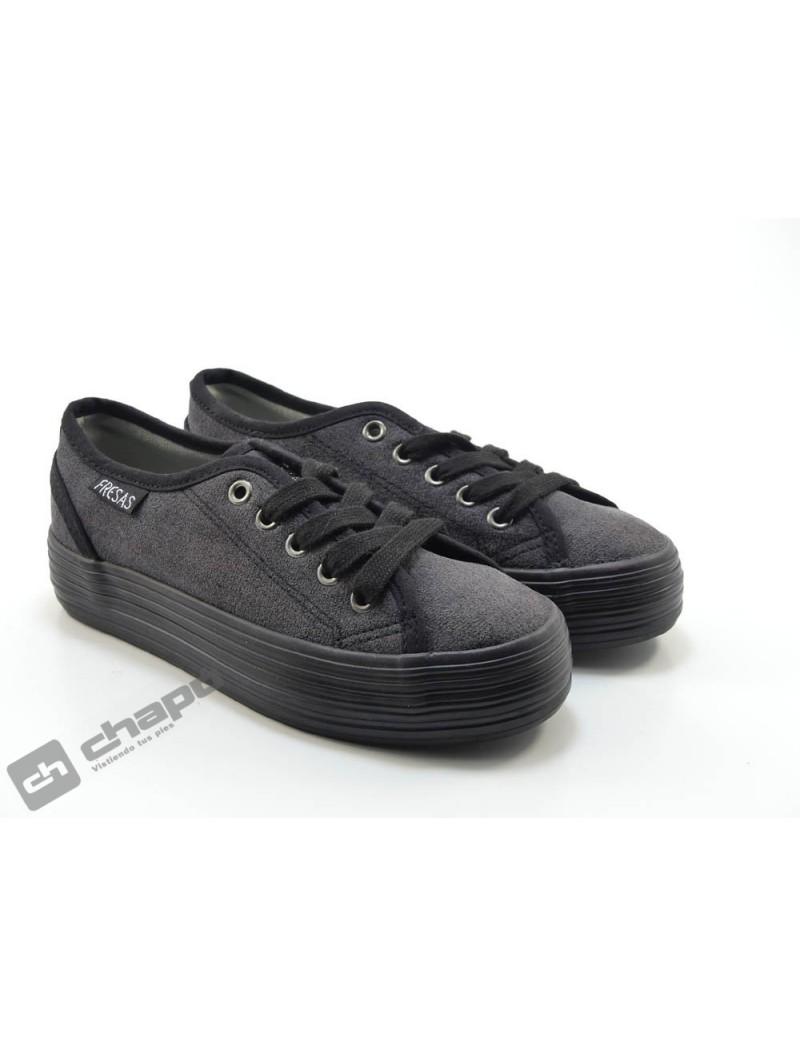 Zapatillas NiÑo-a Negro Fresas Con Nata 595 27