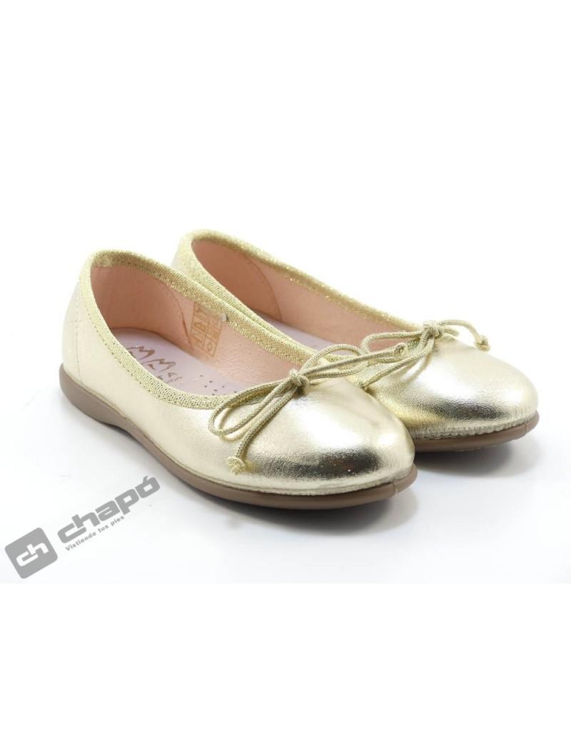 Zapatos Oro D´bebe 14025