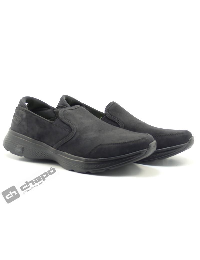 Snakers Negro Skechers 54173