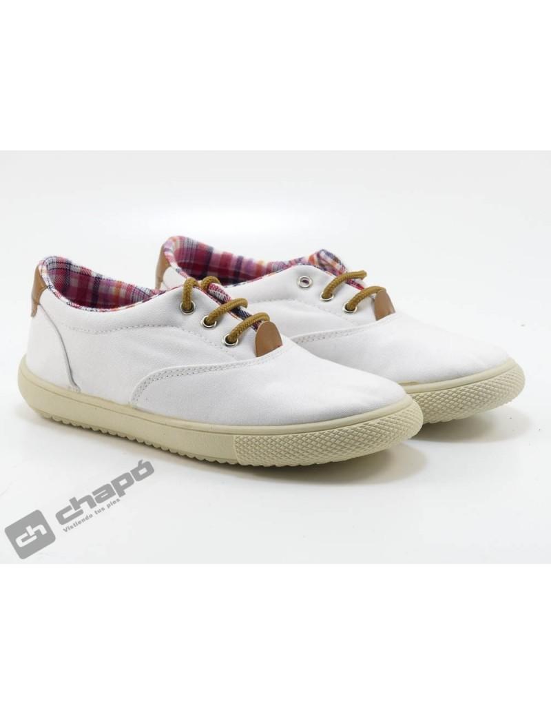 Zapatos Blanco Vul-ladi 1300