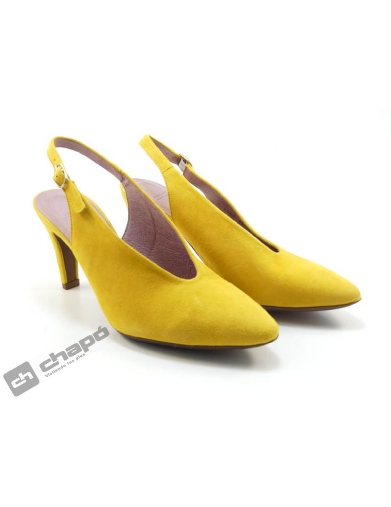 Zapatos Mostaza Zapatos Wonders M-2060