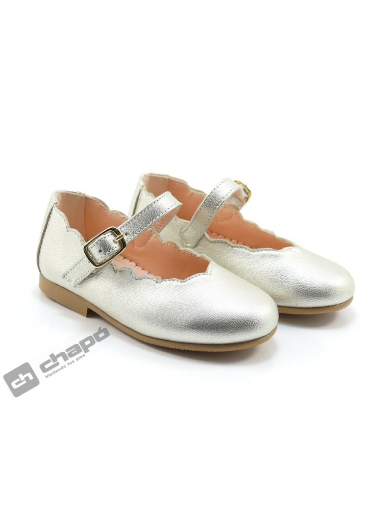 Zapatos Platino Ruts Shoes 3161