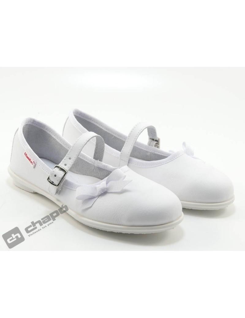 Zapatos Blanco Titanitos L651 Mikaela