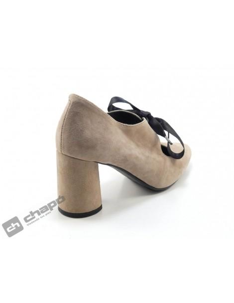 Zapatos Nude Paula PÉrez 1560