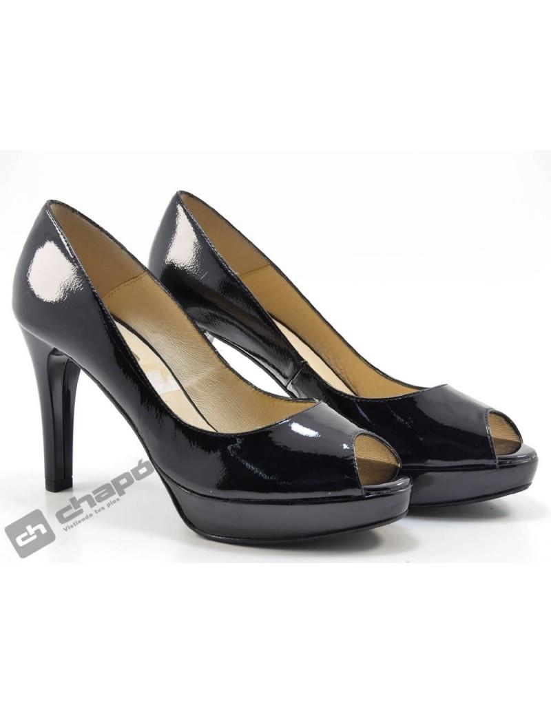 Zapatos Negro Patricia Miller 770-charol