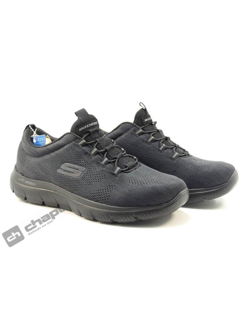 Zapatos Negro Skechers 232186
