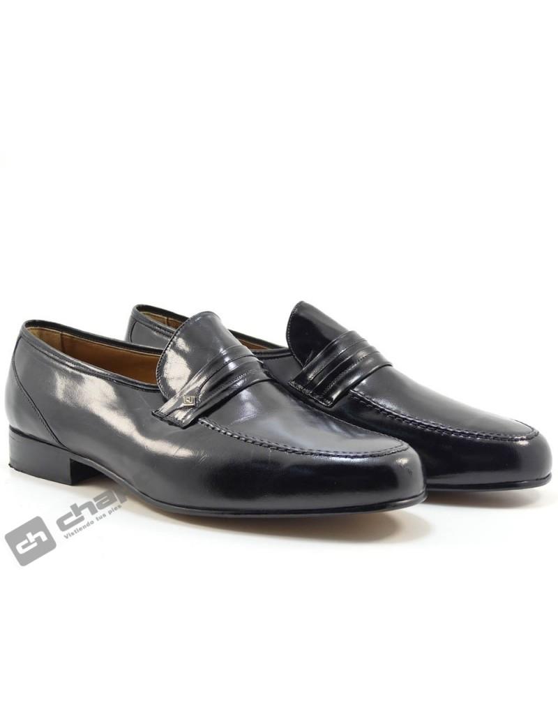 Zapatos Negro  1528-ancho 11