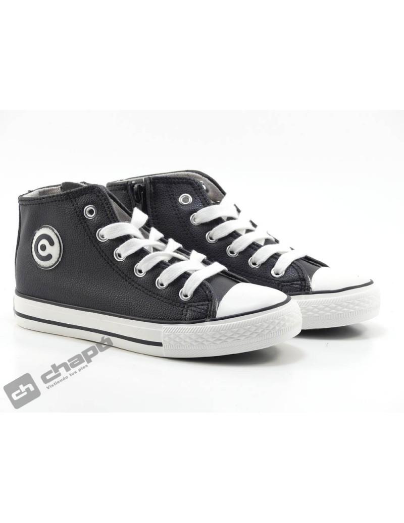 Sneakers Negro Conguitos 28344