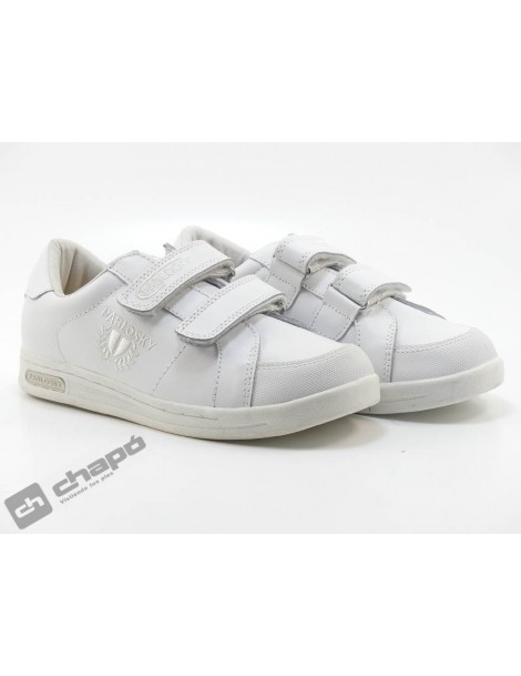 Zapatillas NiÑo-a Blanco Pablosky 900000-904200-no