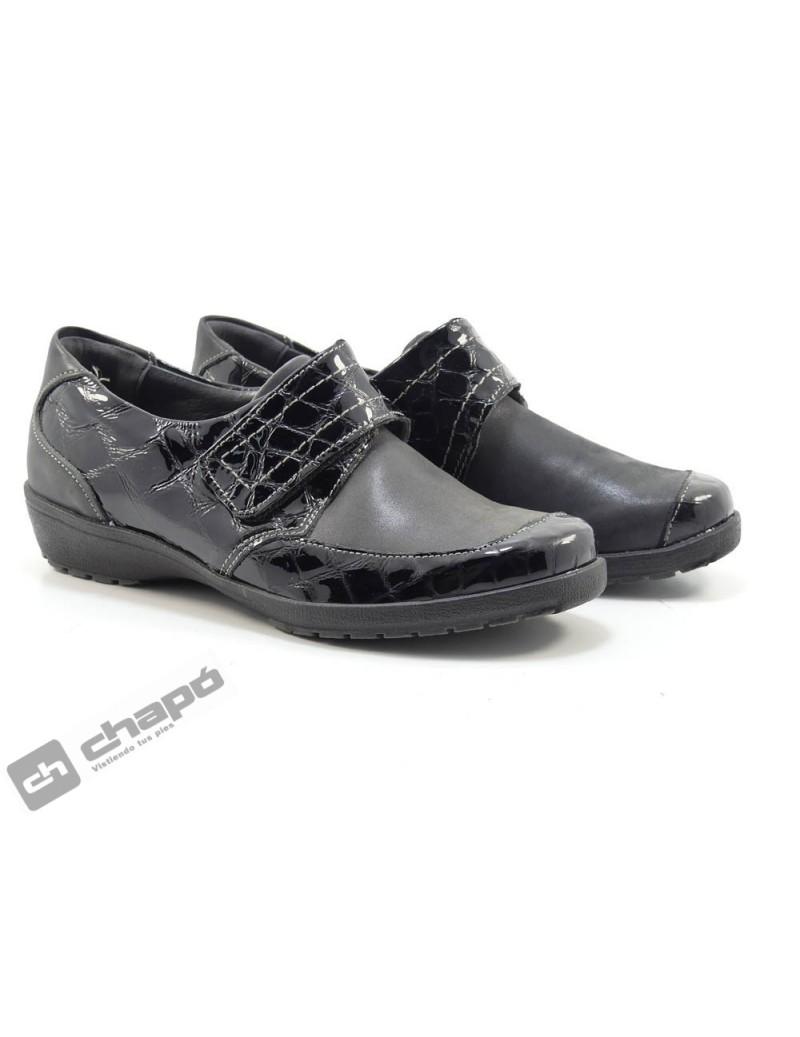 Zapatos Negro Suave 3010