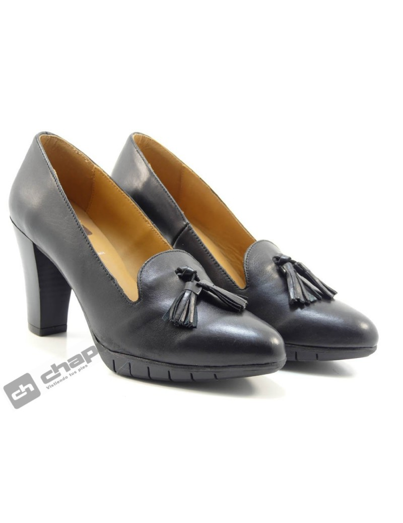 Zapatos Negro ChapÓ 53/1466/gs