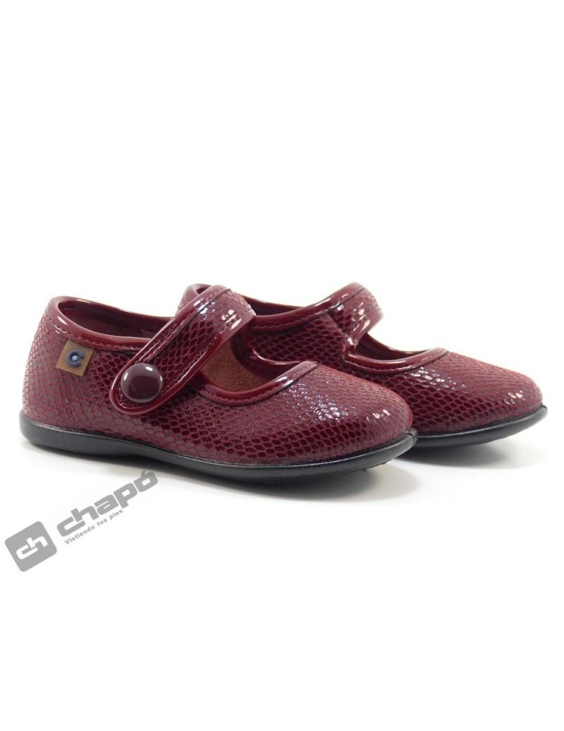 Zapatos Burdeo Conguitos 10250-16258