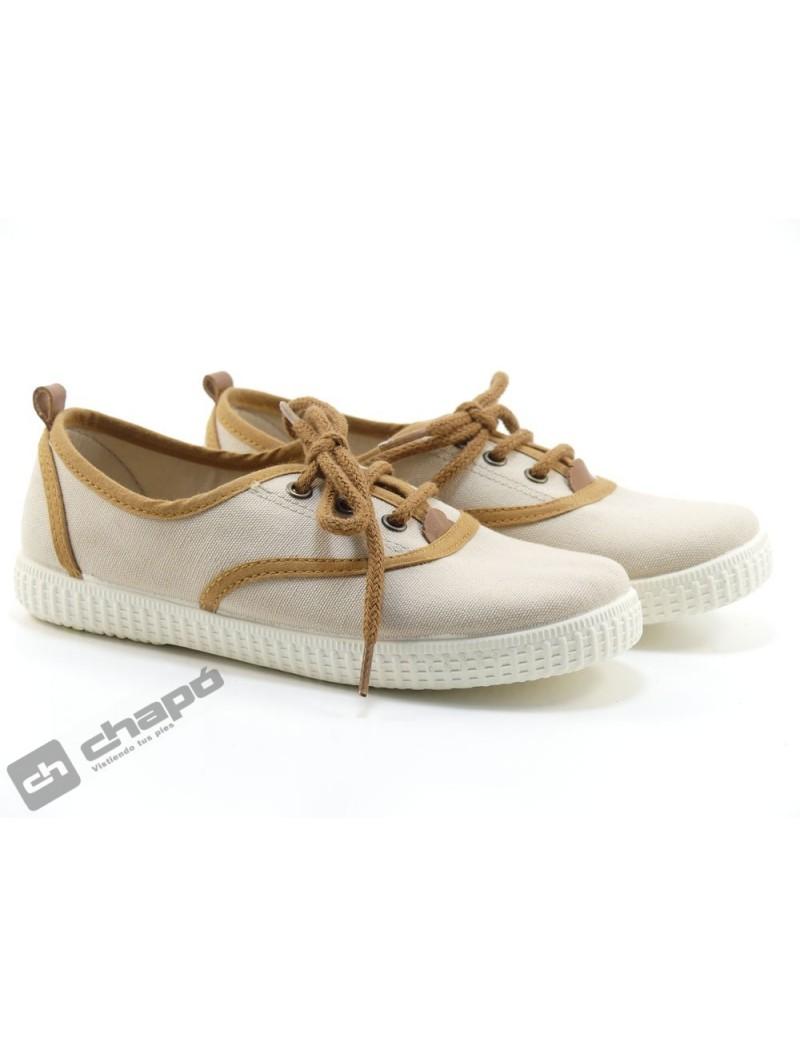 Zapatos Beig Batilas 57001