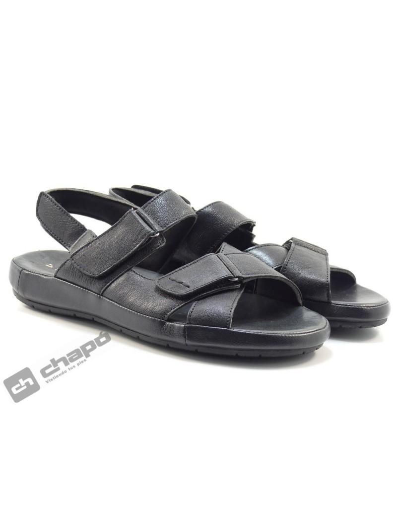 Sandalia Negro Cutillas 70510