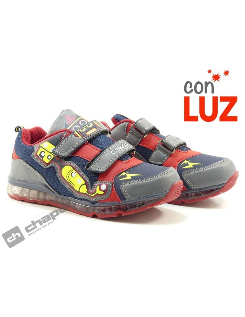 Zapatos Marino Conguitos 27905-luz