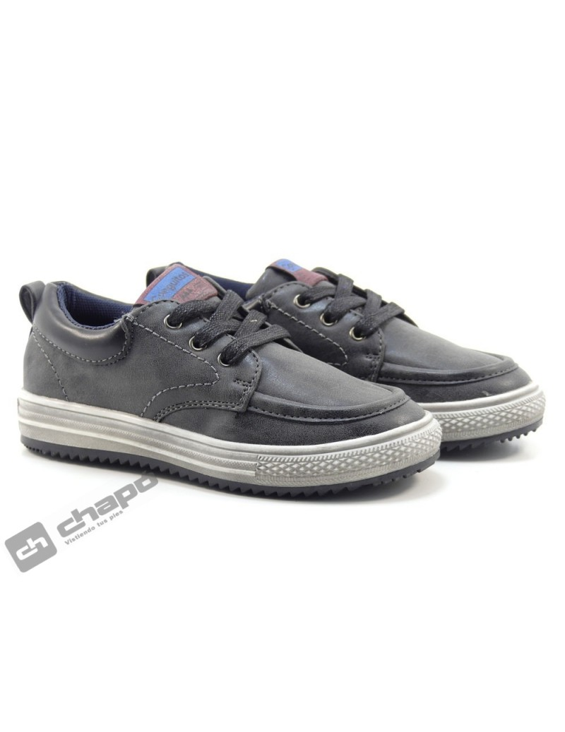Sneakers Negro Conguitos 26812
