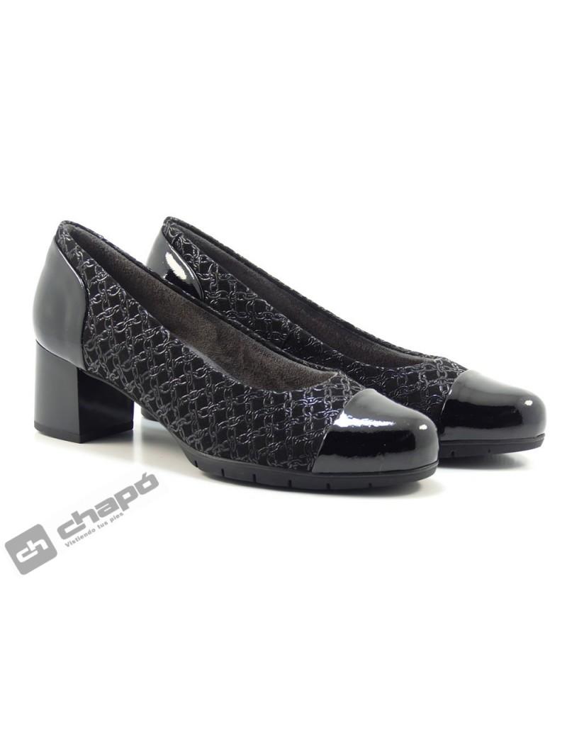 Zapatos Negro Pitillos 6350