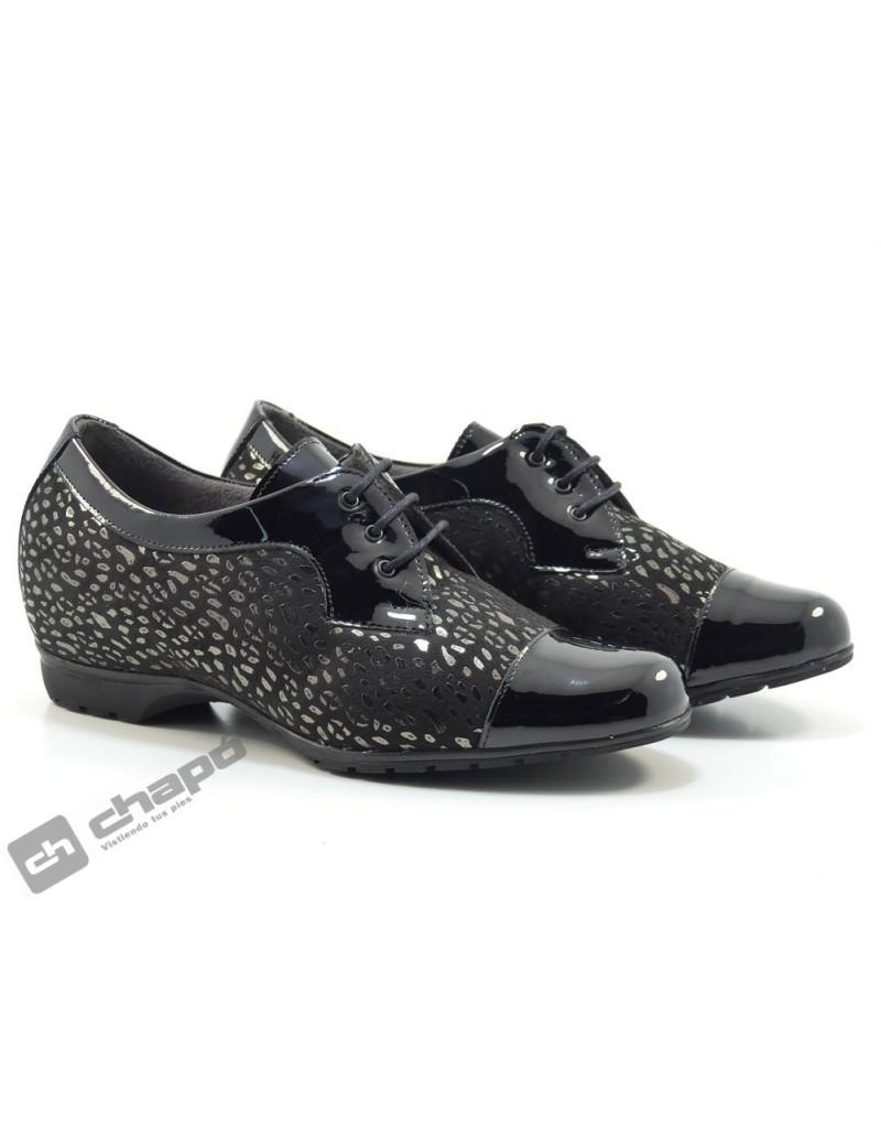 Zapatos Negro Pitillos 3100-silvia