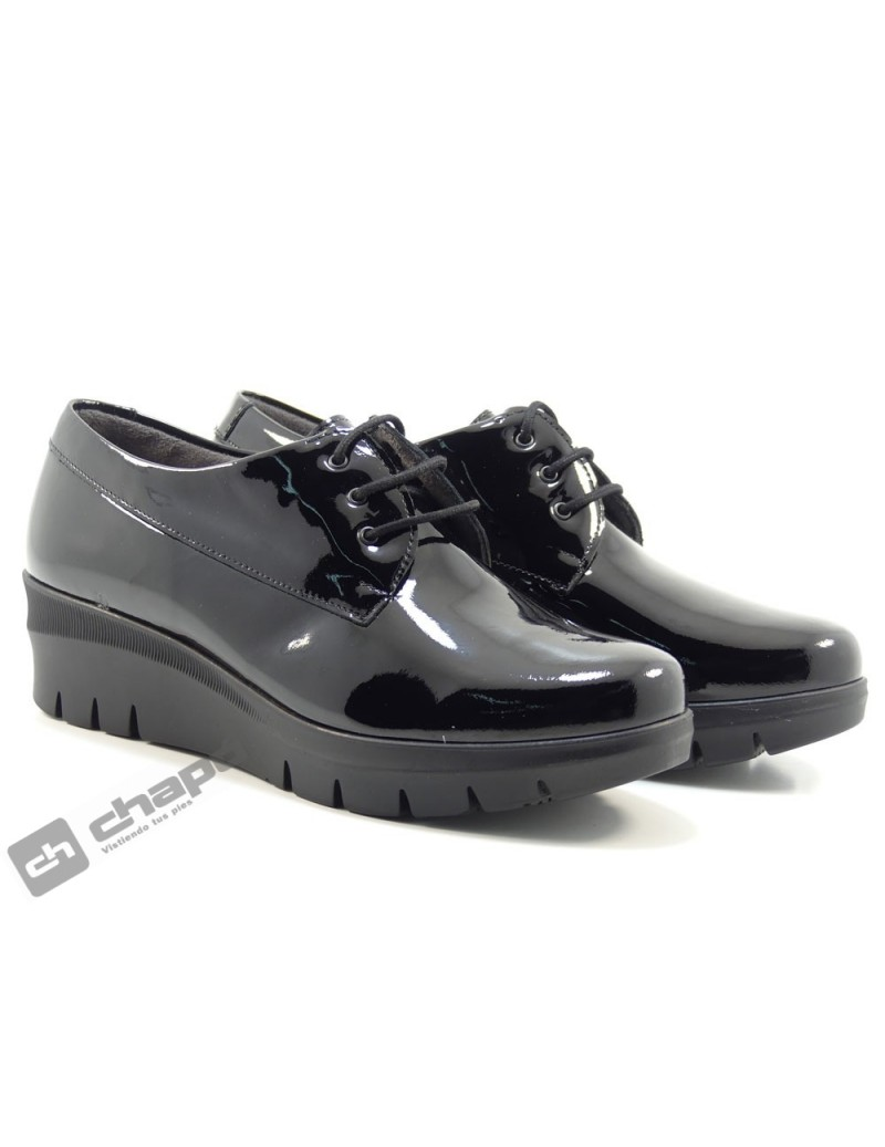 Zapatos Negro Pitillos 6450