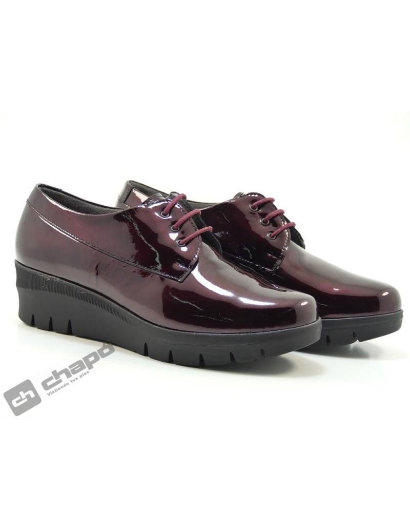 Zapatos Burdeo Pitillos 6450