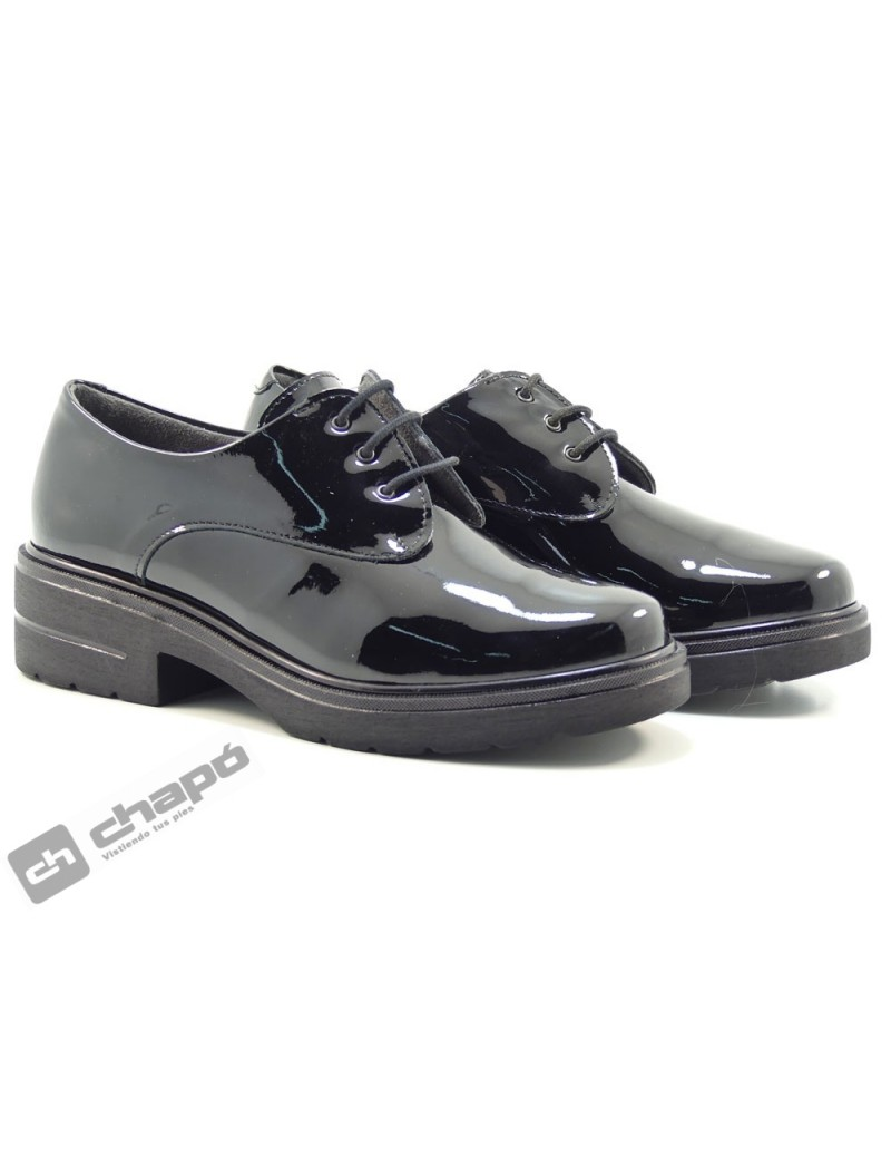 Zapatos Negro Pitillos 6440