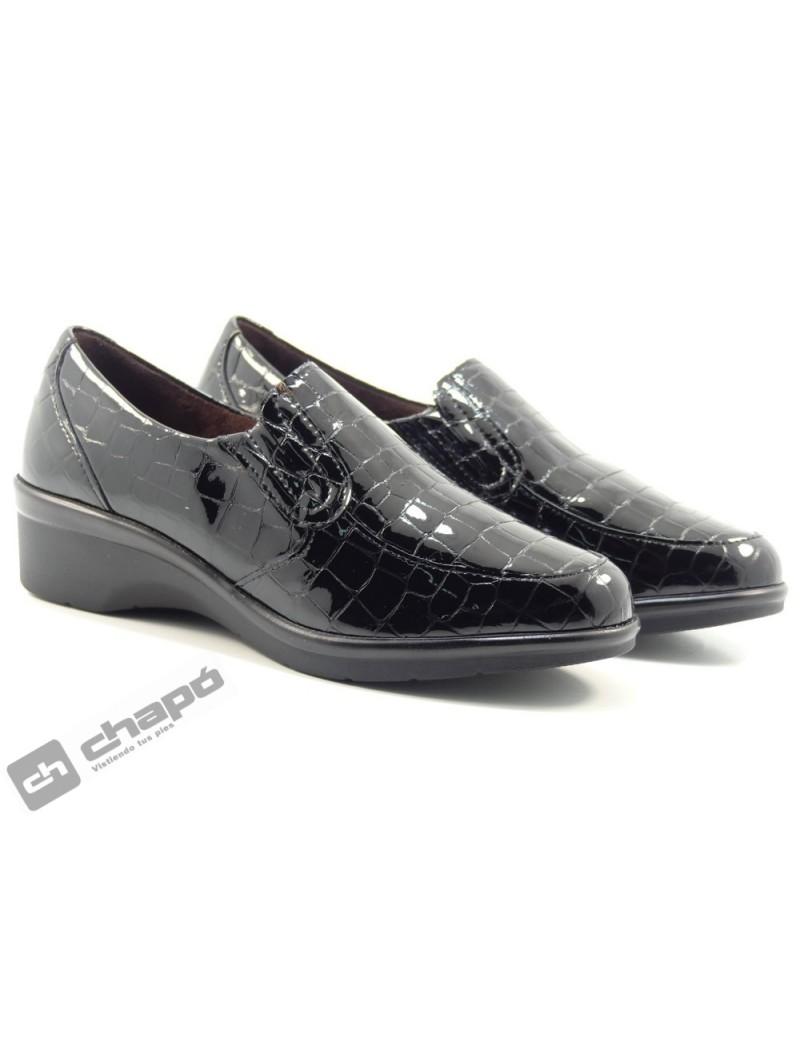 Zapatos Negro Pitillos 6312
