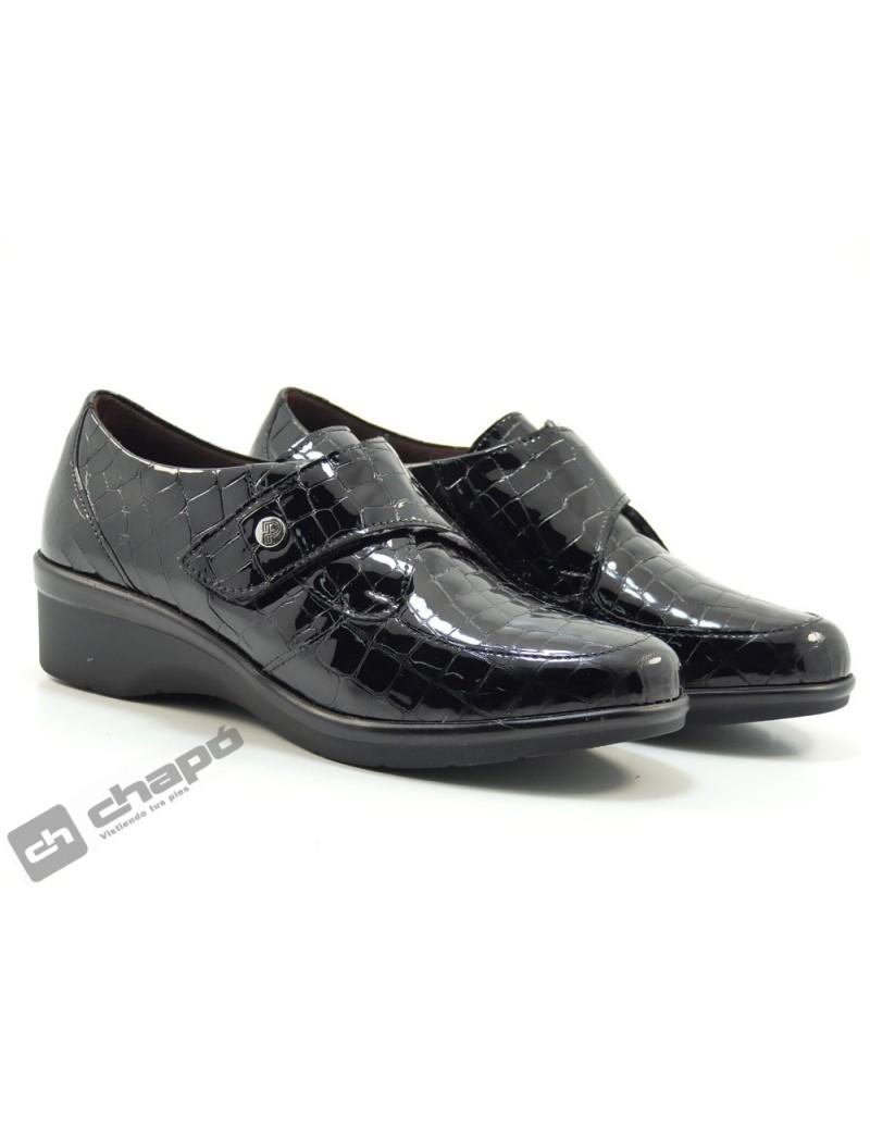 Zapatos Negro Pitillos 6313