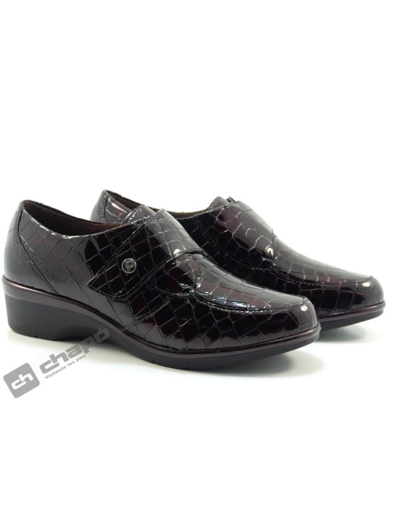 Zapatos Burdeo Pitillos 6313
