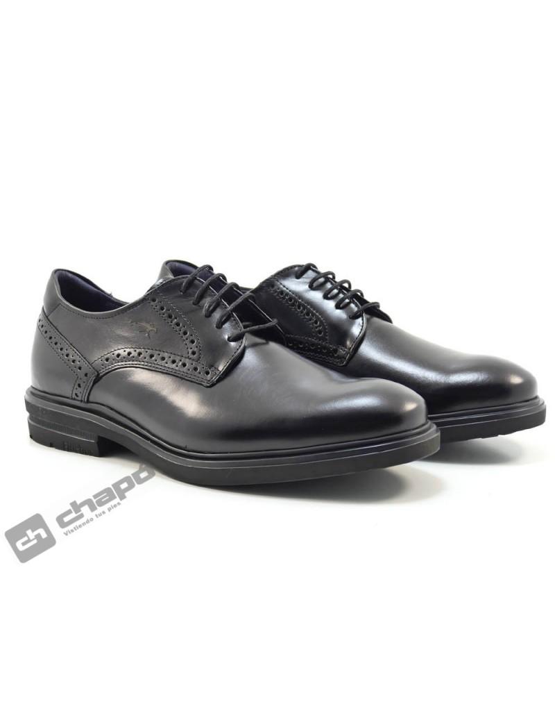 Zapatos Negro Fluchos F0630
