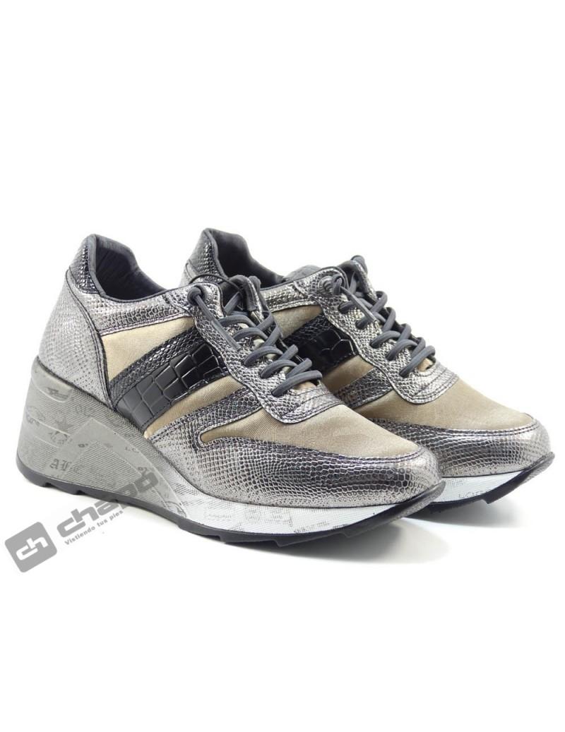 Sneakers Plomo Cetti C-1145 Sra