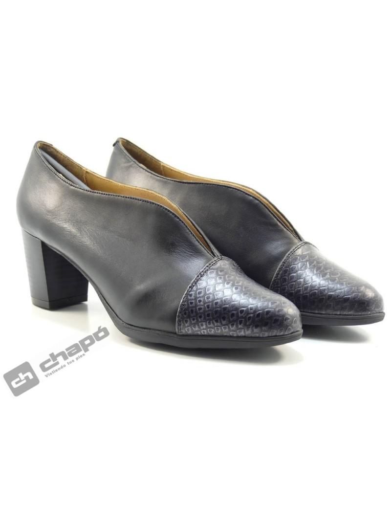 Zapatos De Salon Negro ChapÓ 12/120gs