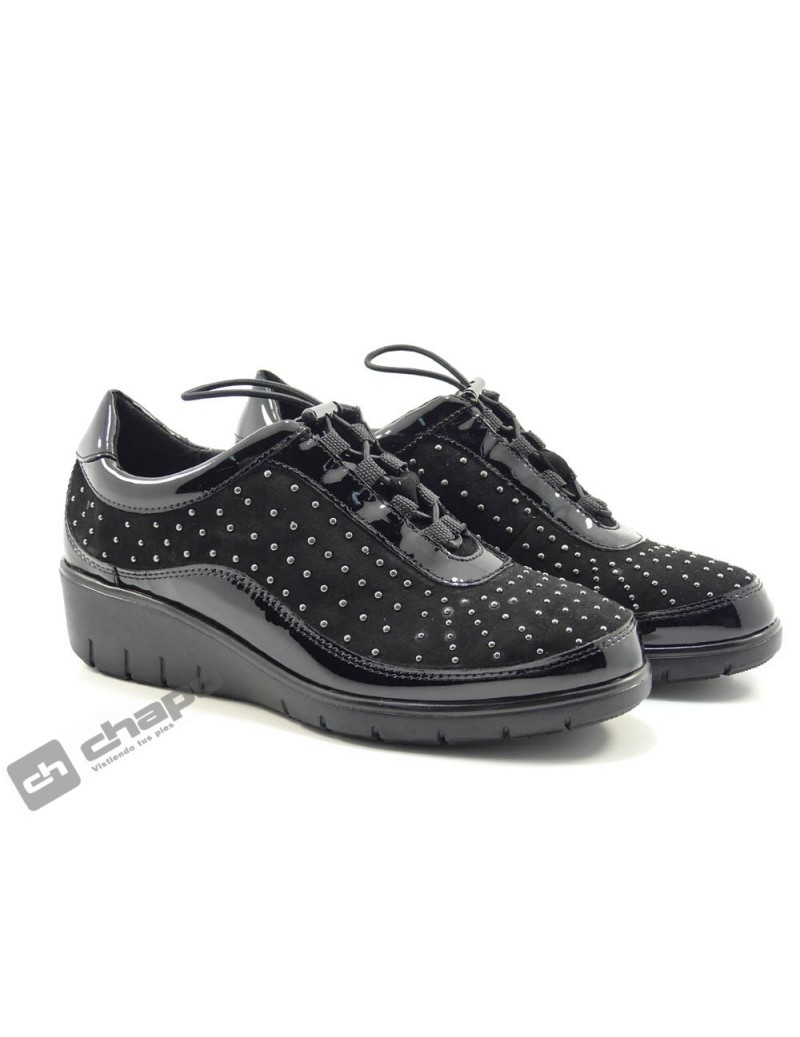 Snakers Negro Cutillas 60318