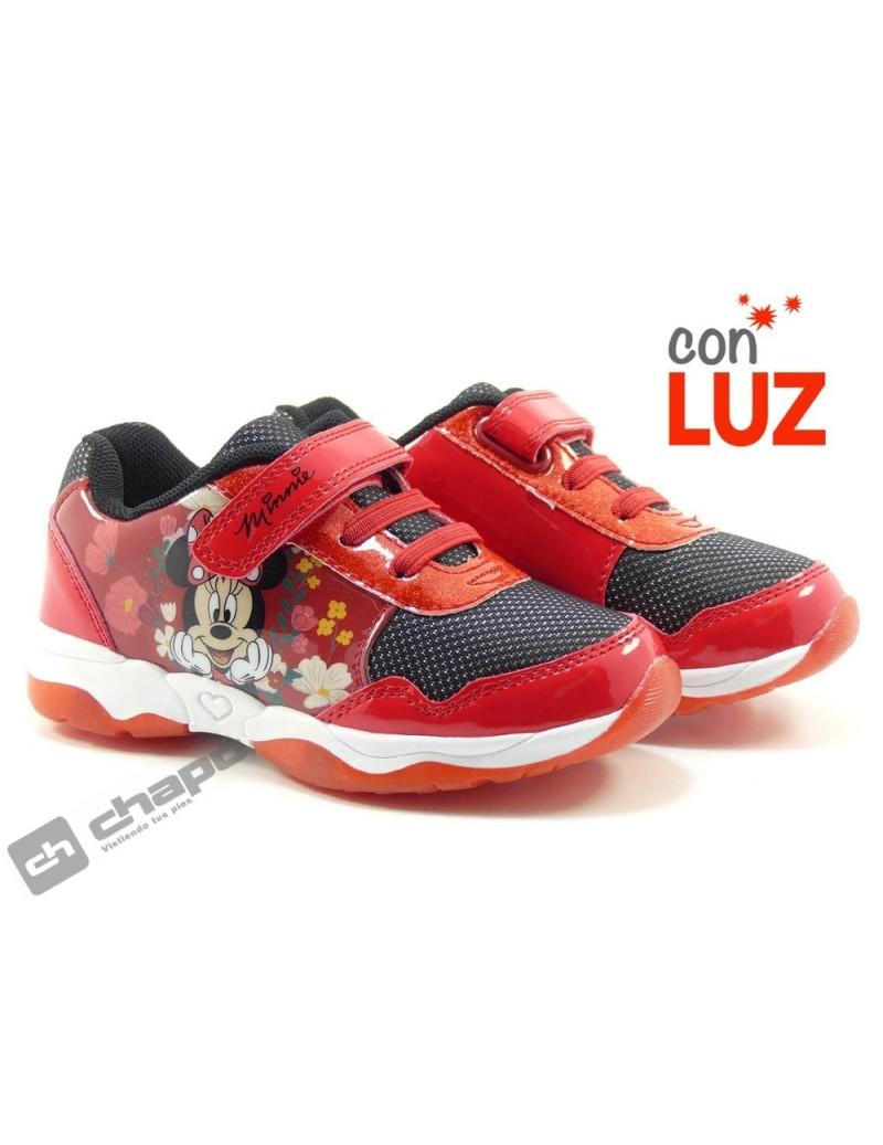 Zapatillas NiÑo-a Rojo Cortina Dm006935