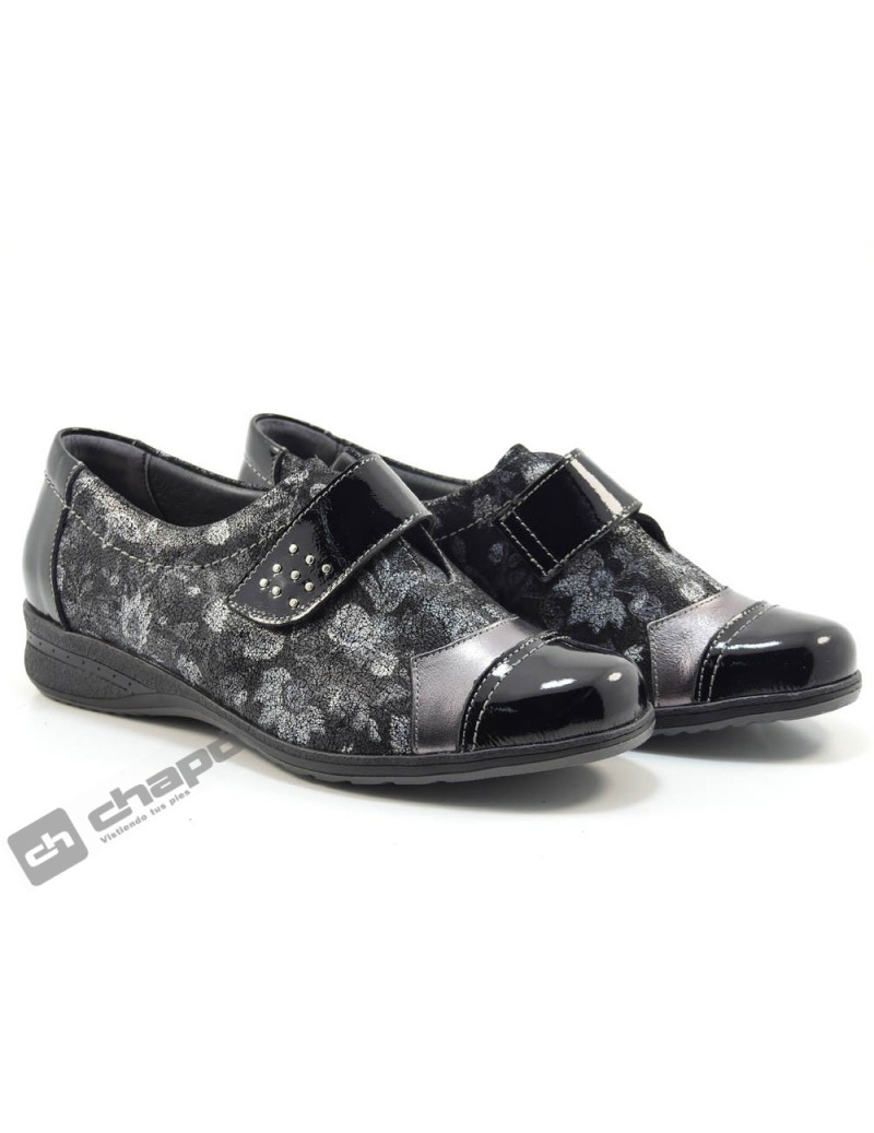 Sneakers Negro Suave 3810nbc