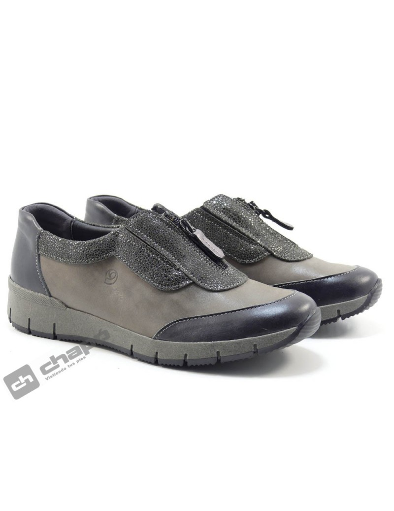 Sneakers Taupe Suave 3915 Bcs