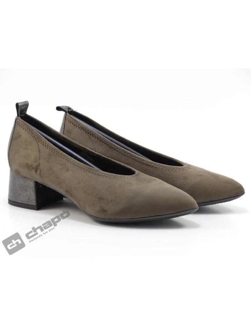 Zapatos Taupe Paula PÉrez 5541