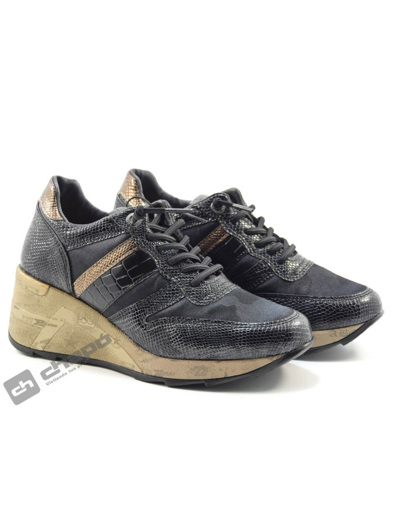 Sneakers Negro Cetti C-1145 Sra