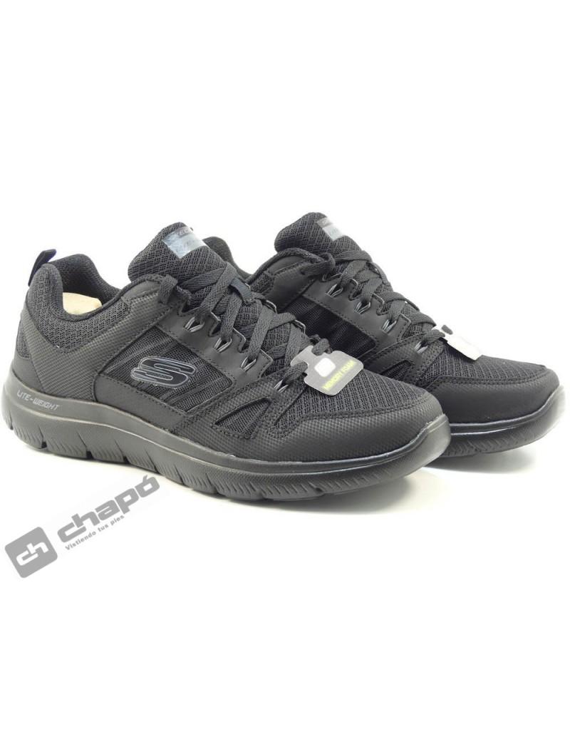 Zapatos Negro Skechers 232069