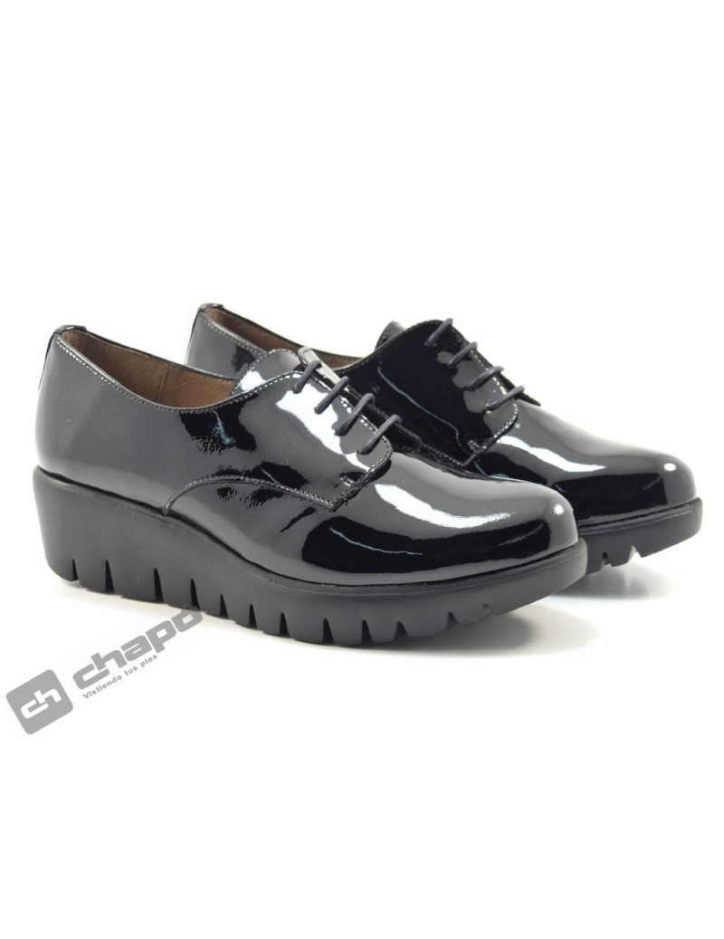 Zapatos Negro Zapatos Wonders C-33136