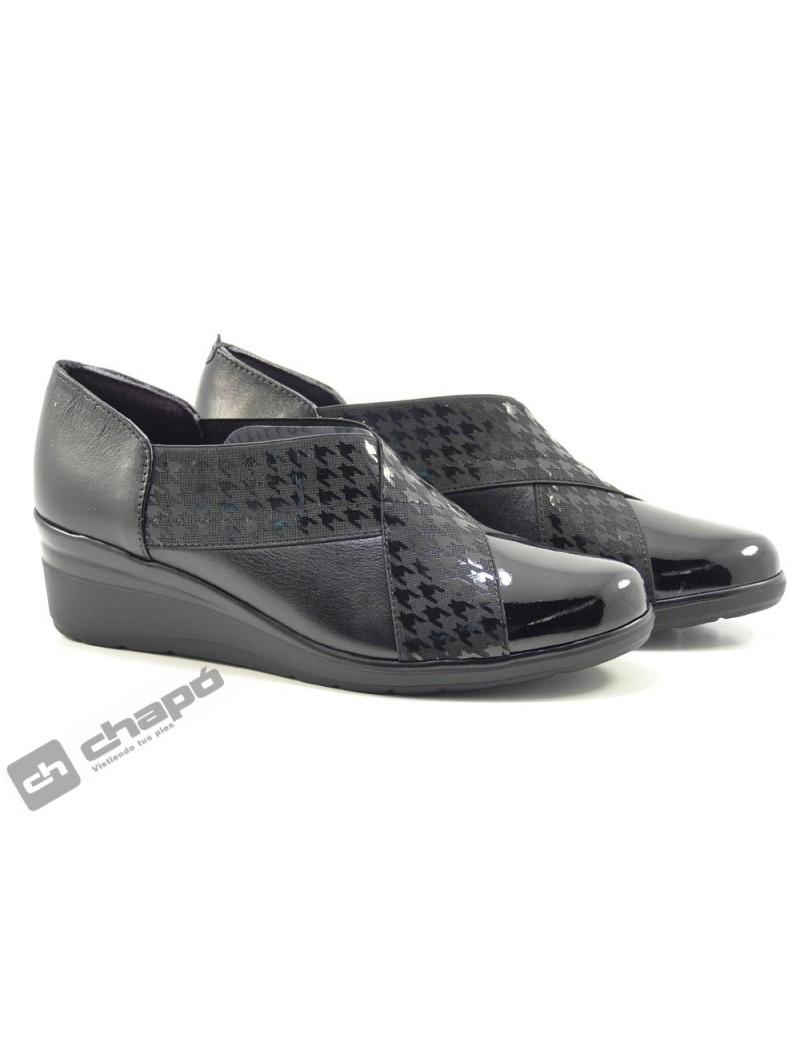 Zapatos Negro Pitillos 6324
