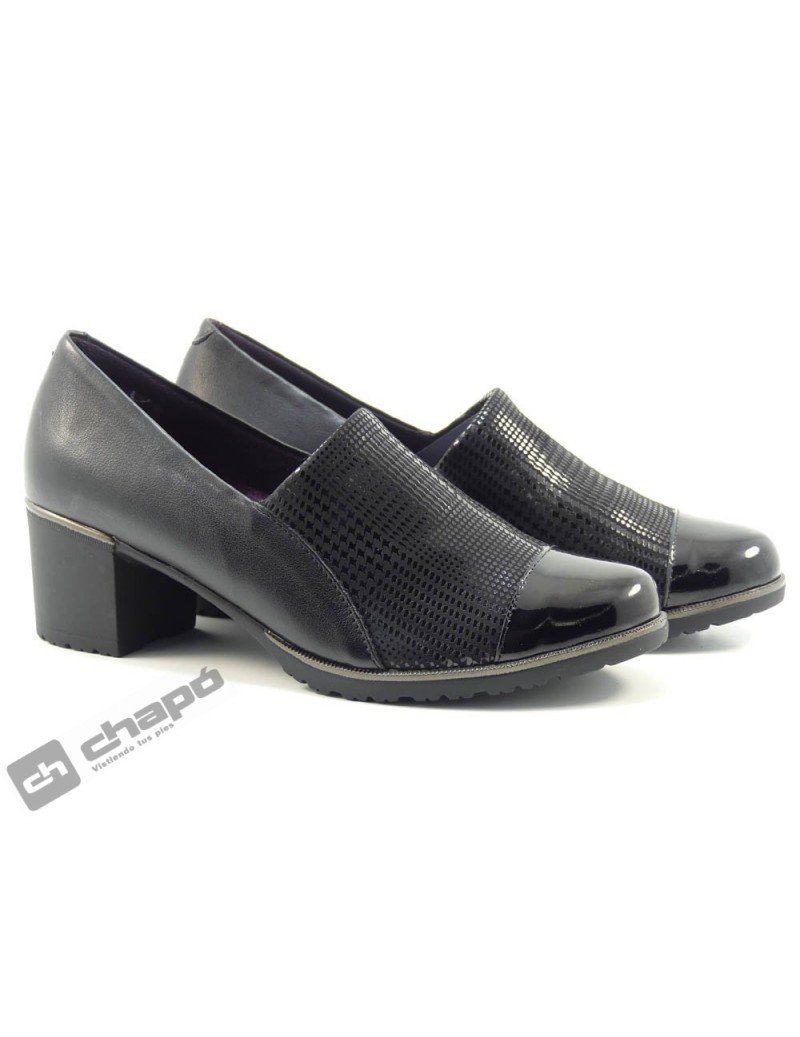 Zapatos Negro Pitillos 6331